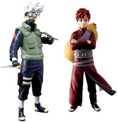 Muppet Show #3; Naruto Shippuden 6-Inch Action Figures Series 2